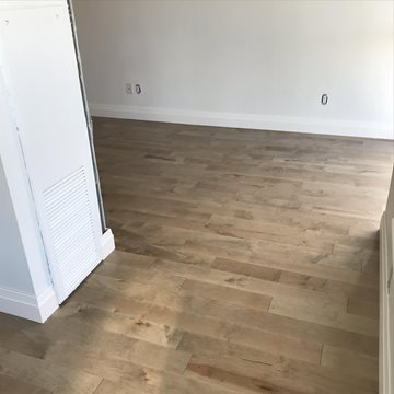 Another Happy client- Maple Engineered hardwood flooring