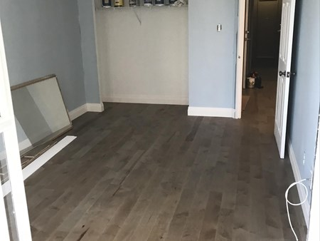 Another Happy client- Maple Engineered hardwood flooring 10918 another happy client  maple engineered hardwood flooring 2