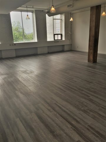 Vinyl Plank FlooringCommercial application